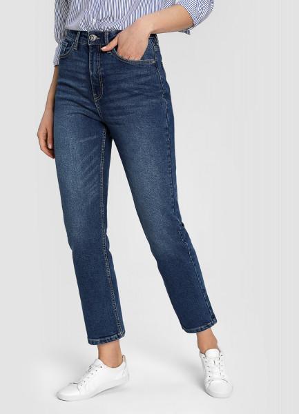 Премиум-джинсы с высокой посадкой фото