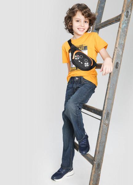 Джинсы зауженные для мальчиков ostin джинсы для мальчиков