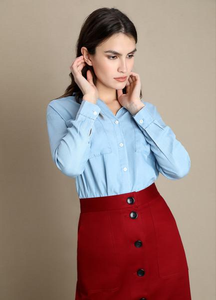 Блузка из тенселя фото
