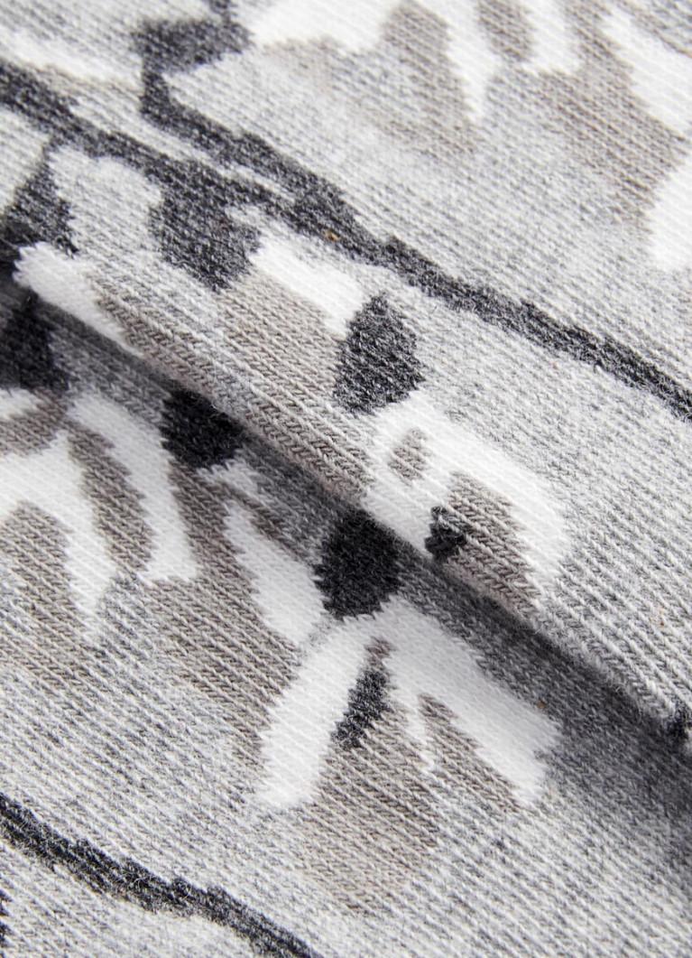 Носки с цветочным жаккардом