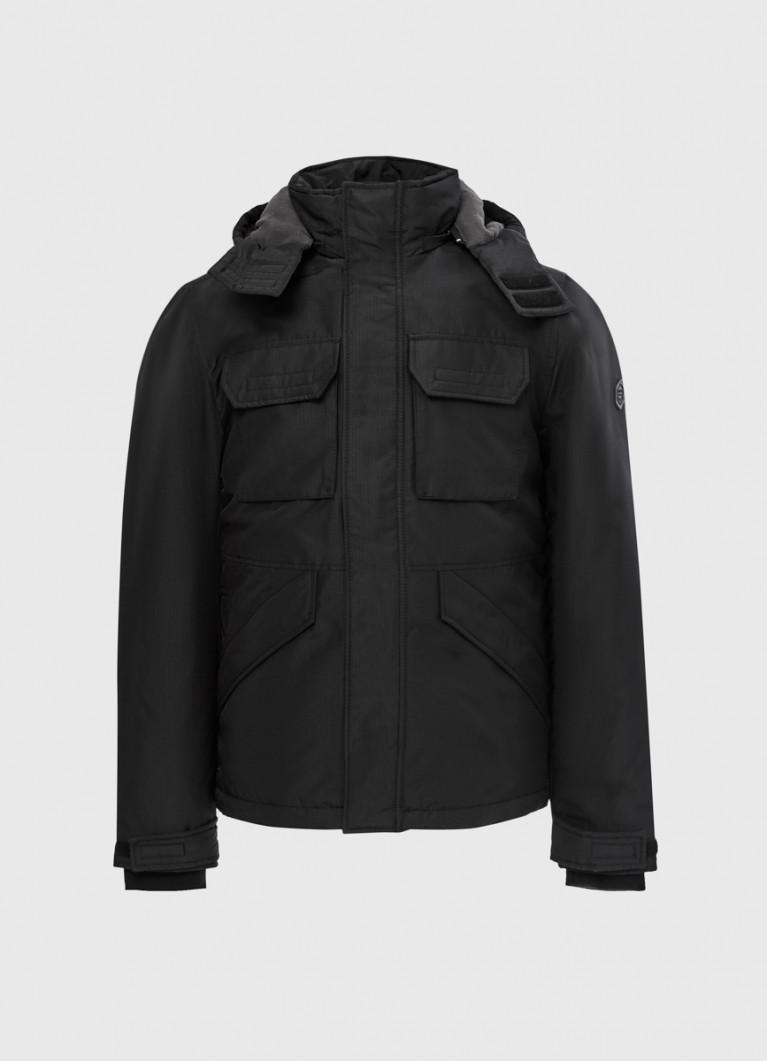 Куртка «4 кармана» с капюшоном
