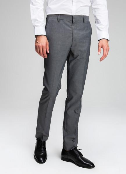 Поливискозные брюки в микроструктуру