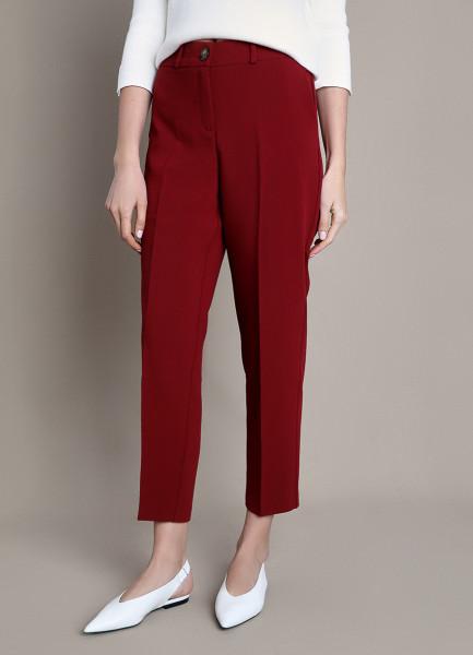 Прямые брюки из поливискозы фото