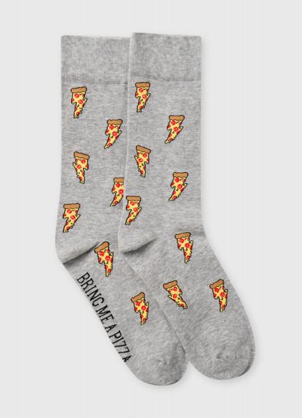 Фото - Носки с жаккардом «пицца» носки с жаккардом пицца