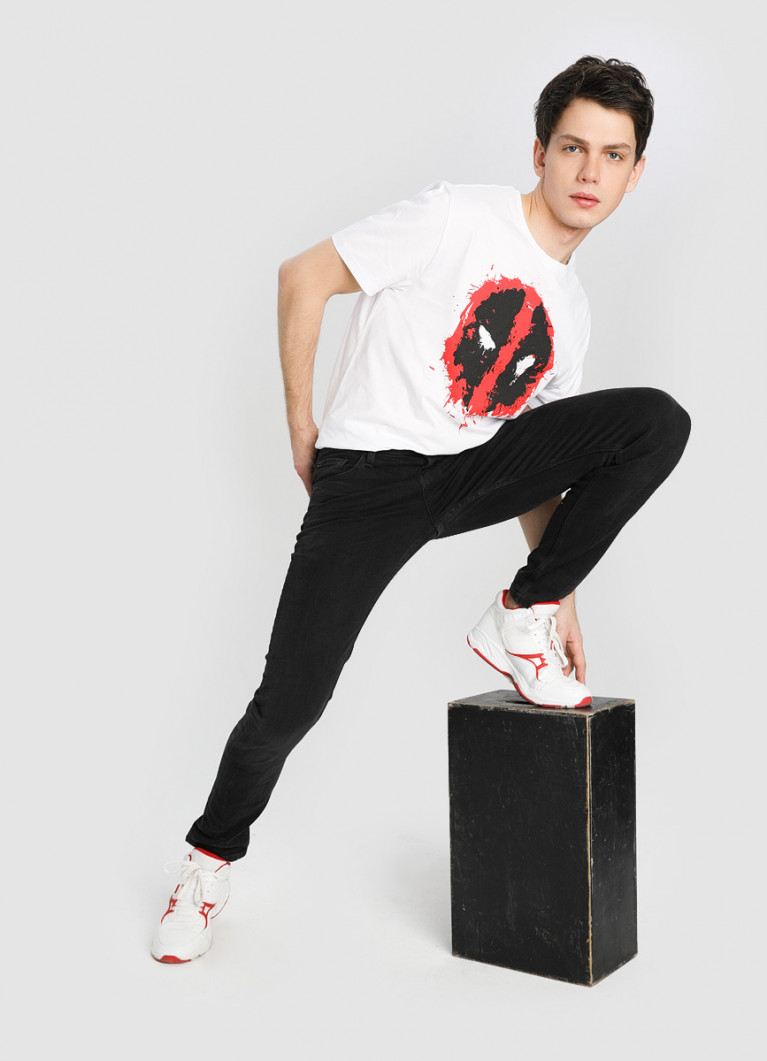 Чёрные джинсы Slim
