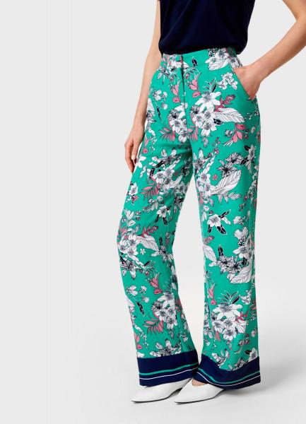 Брюки палаццо с принтом брюки movies брюки палаццо