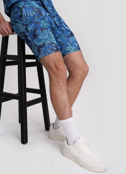 Фото - Джинсовые шорты с принтом please джинсовые шорты