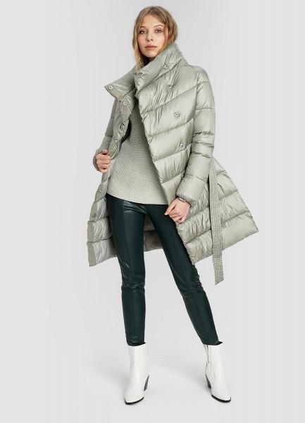 Ультралёгкое пальто с широким воротом