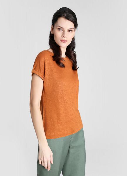 Льняная футболка