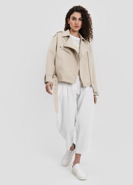 Хлопковая куртка-косуха