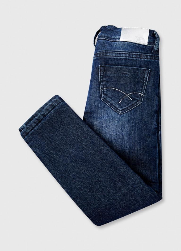 Утеплённые джинсы для девочек