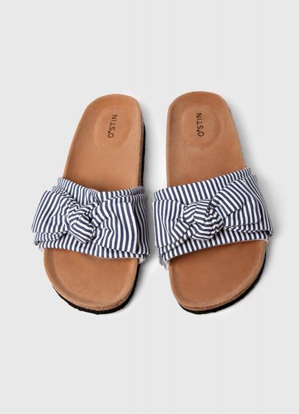 Фото - Сандалии с текстильным верхом сандалии jana сандалии