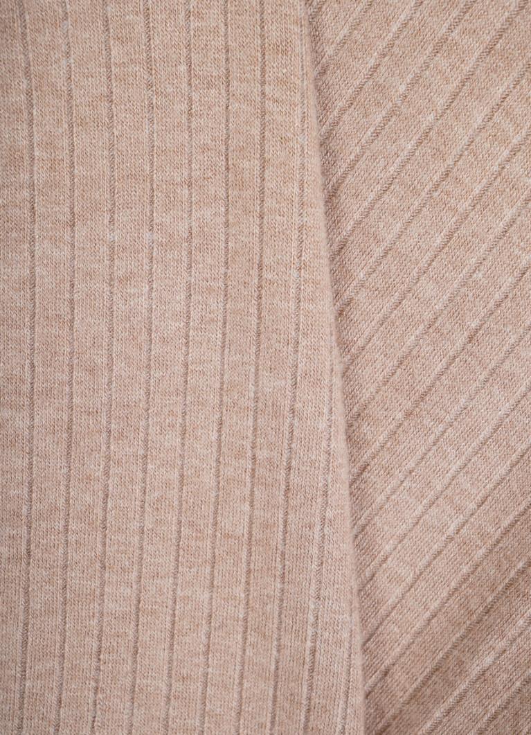 Джемпер из полотна в рубчик