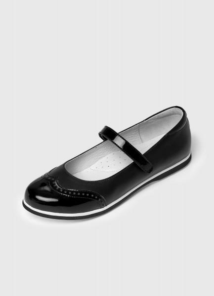 цена на Кожаные туфли для девочек