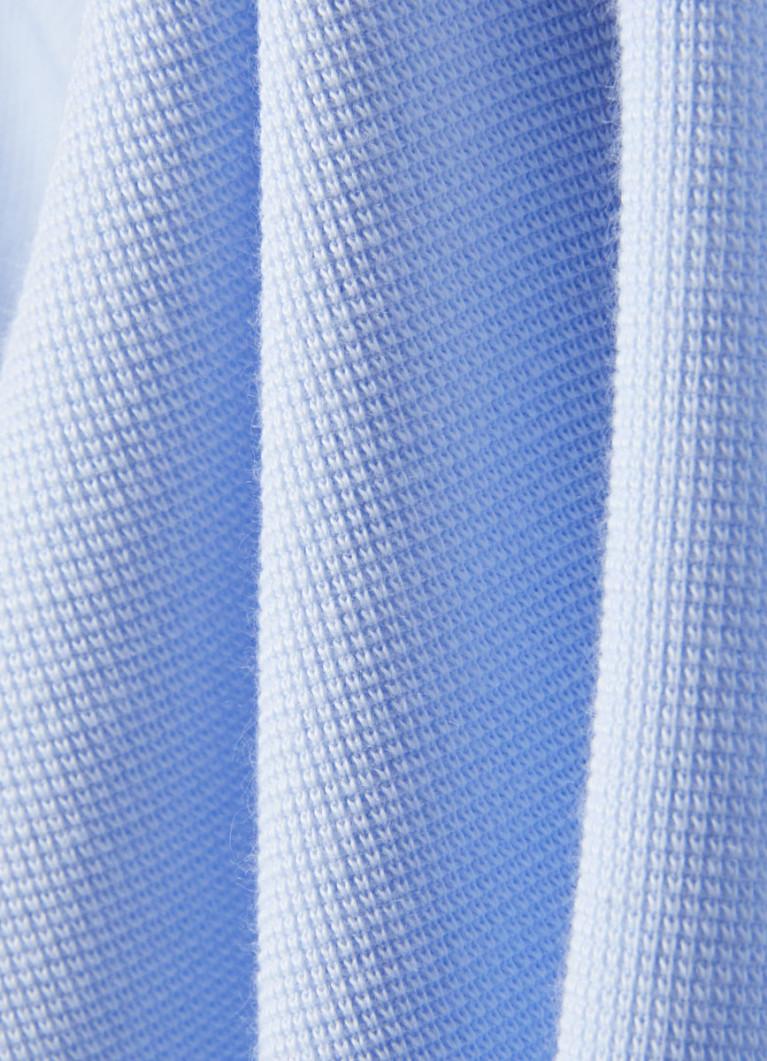 Джемпер с текстильными деталями