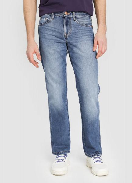 Прямые винтажные джинсы фото