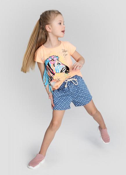 Принтованные шорты для девочек фото