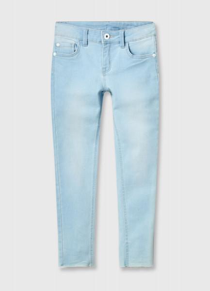 Узкие укороченные джинсы для девочек