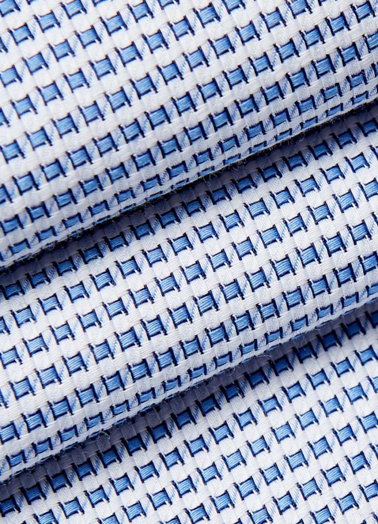 Рубашка в геометрический жаккард