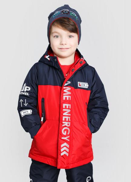 Утеплённая куртка для мальчиков фото