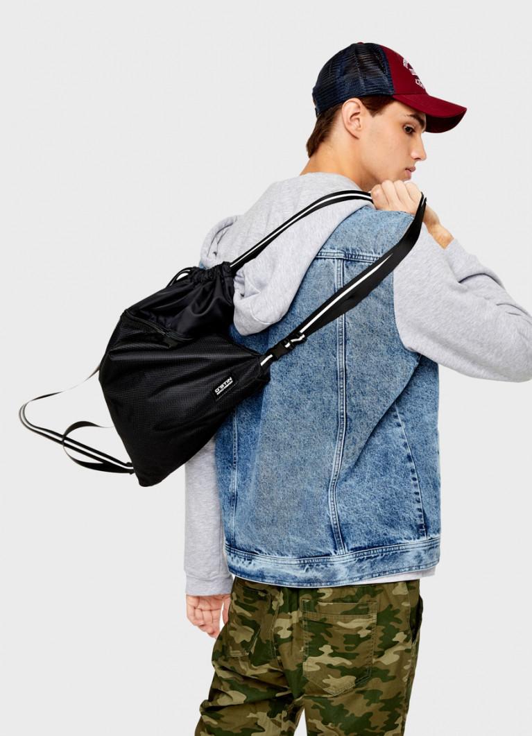 Мягкий рюкзак на шнурке