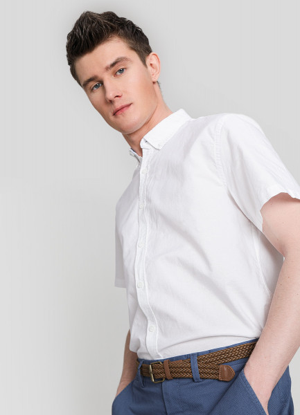 Рубашка из хлопка Oxford