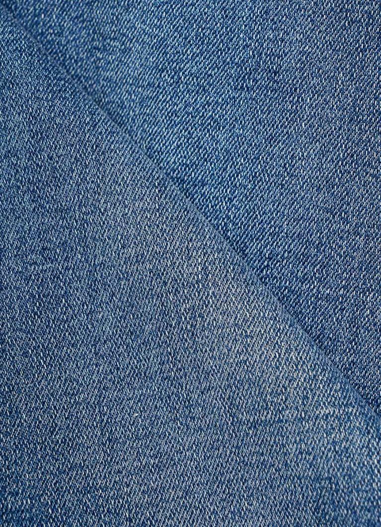 Суперузкие джинсы с высокой посадкой