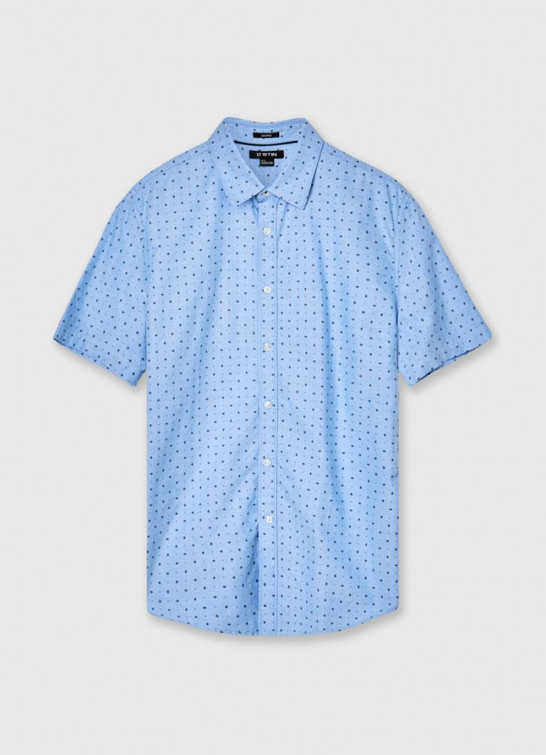 Рубашка из принтованного из хлопка