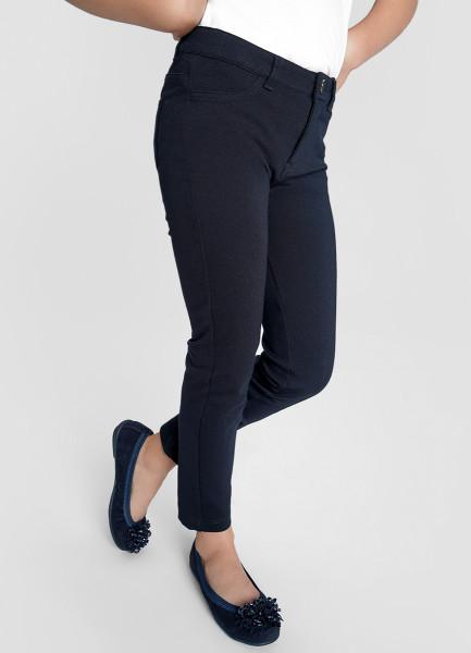 Трикотажные брюки для девочек