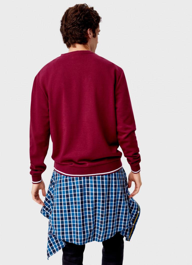 Джемпер с вышивкой