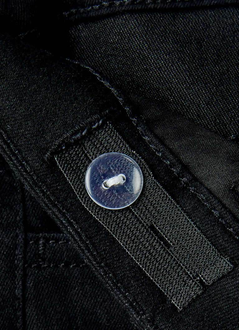 Базовые чёрные джинсы для мальчиков