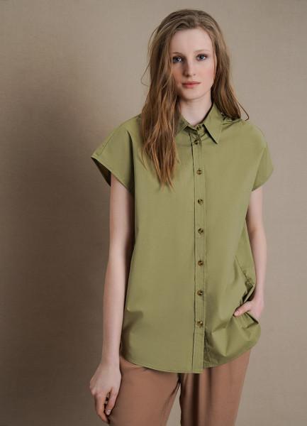 Блузка из тонкого хлопка