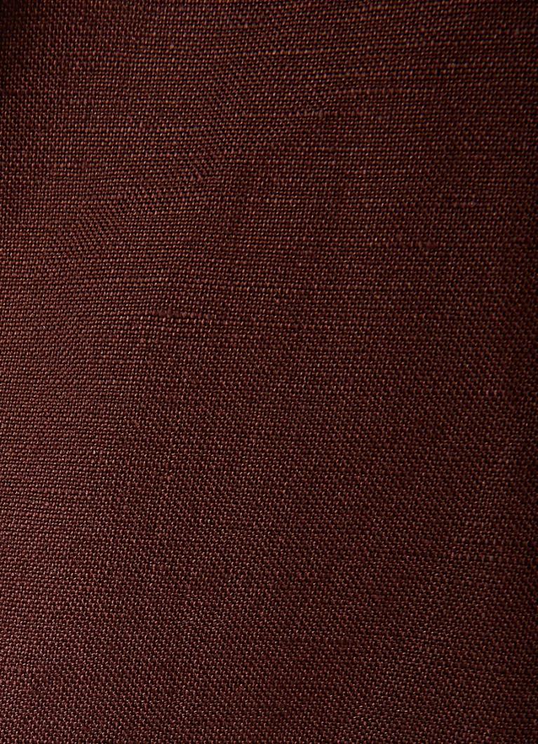 Зауженные брюки изо льна
