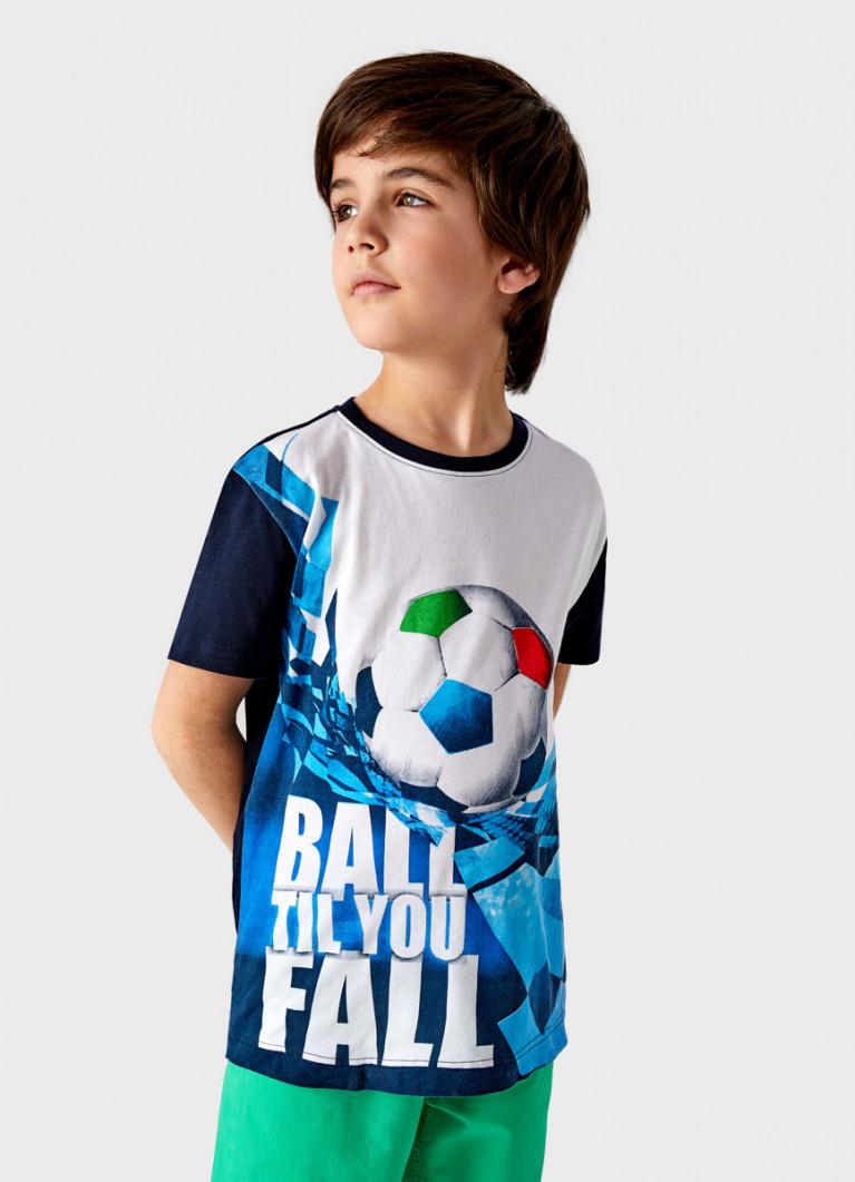 Футболка с принтом для мальчиков