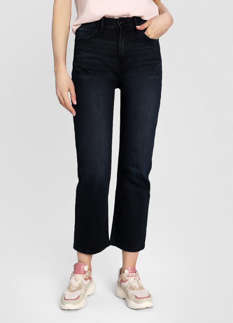 Прямые премиум-джинсы с высокой посадкой