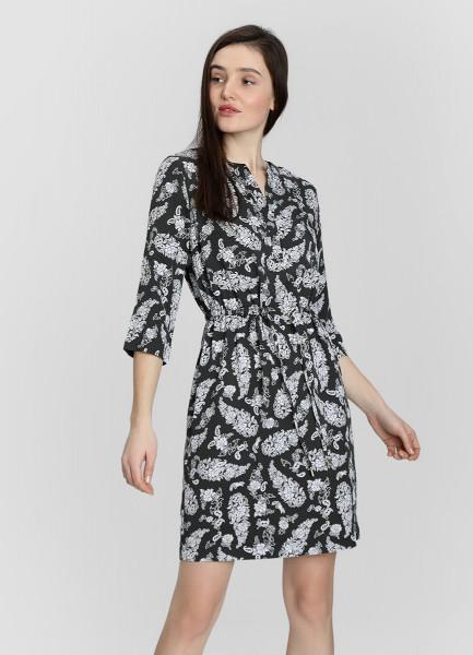 Платье из тенселя на кулисе