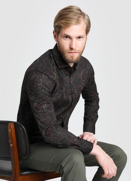 Рубашка с принтом Paisley tassel trim paisley kimono