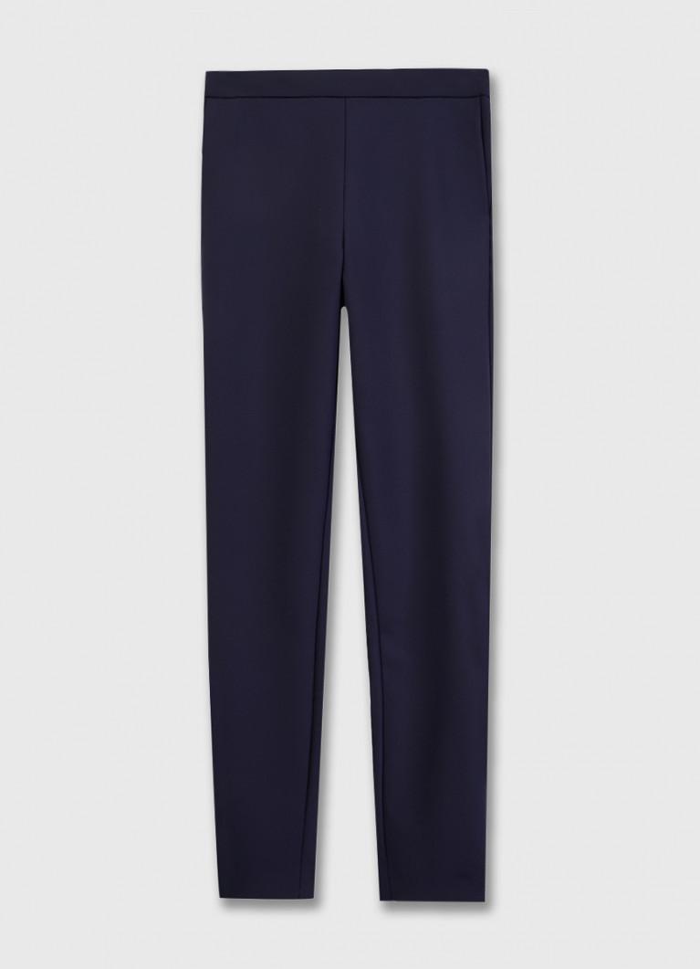 Узкие брюки из эластичной ткани