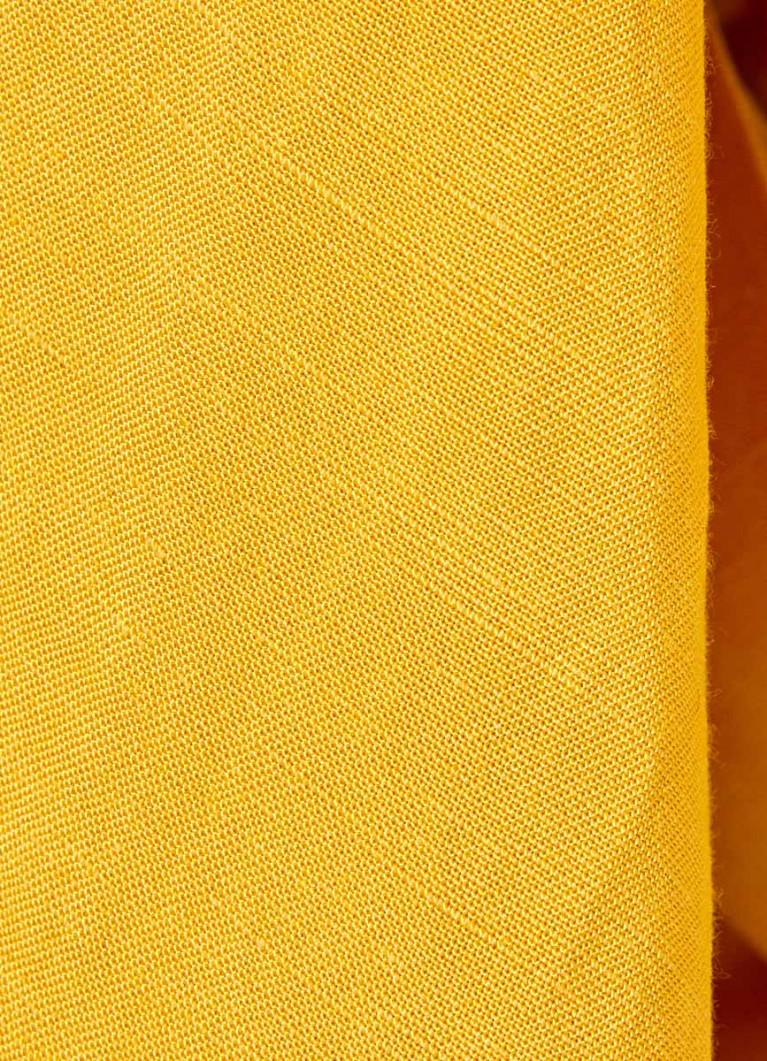 Льняной сарафан на пуговицах