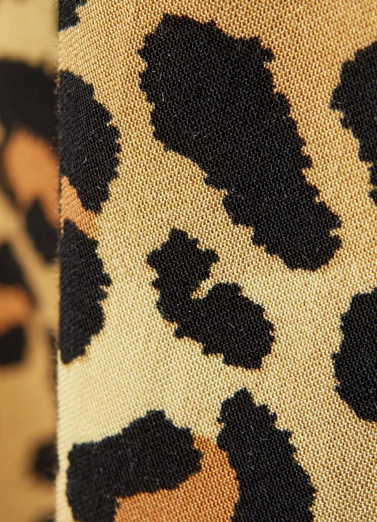 Блузка в леопардовый принт