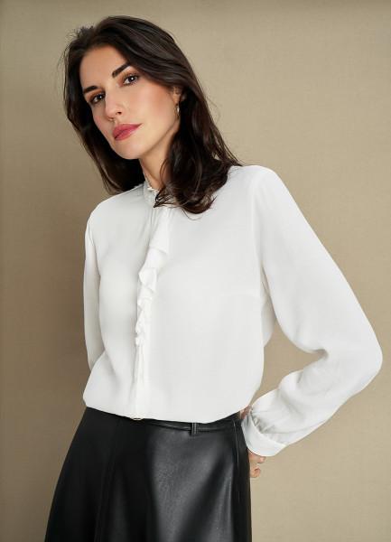 Блузка из вискозного крепа