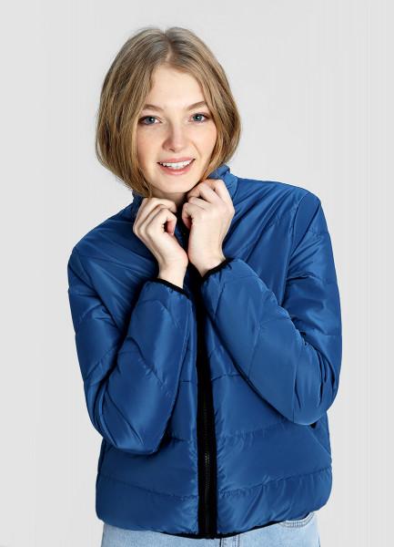 Короткая утеплённая куртка фото
