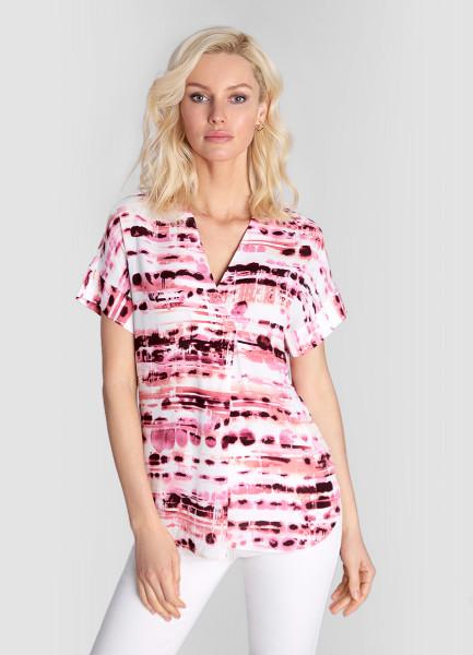Блузка из вискозного крепа ostin блузка из крепа в геометрический принт