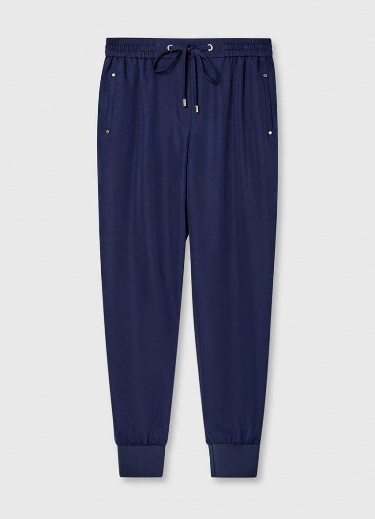 Свободные брюки из поливискозы