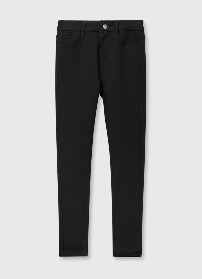 Узкие утеплённые брюки