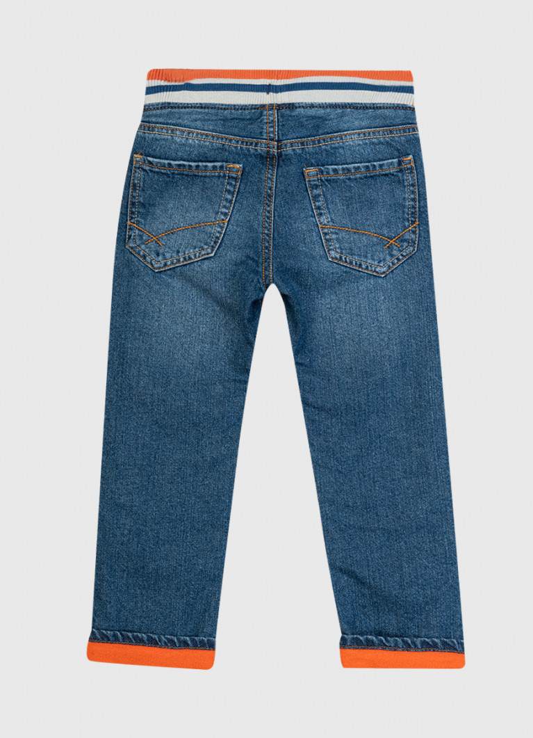 Утеплённые джинсы для мальчиков