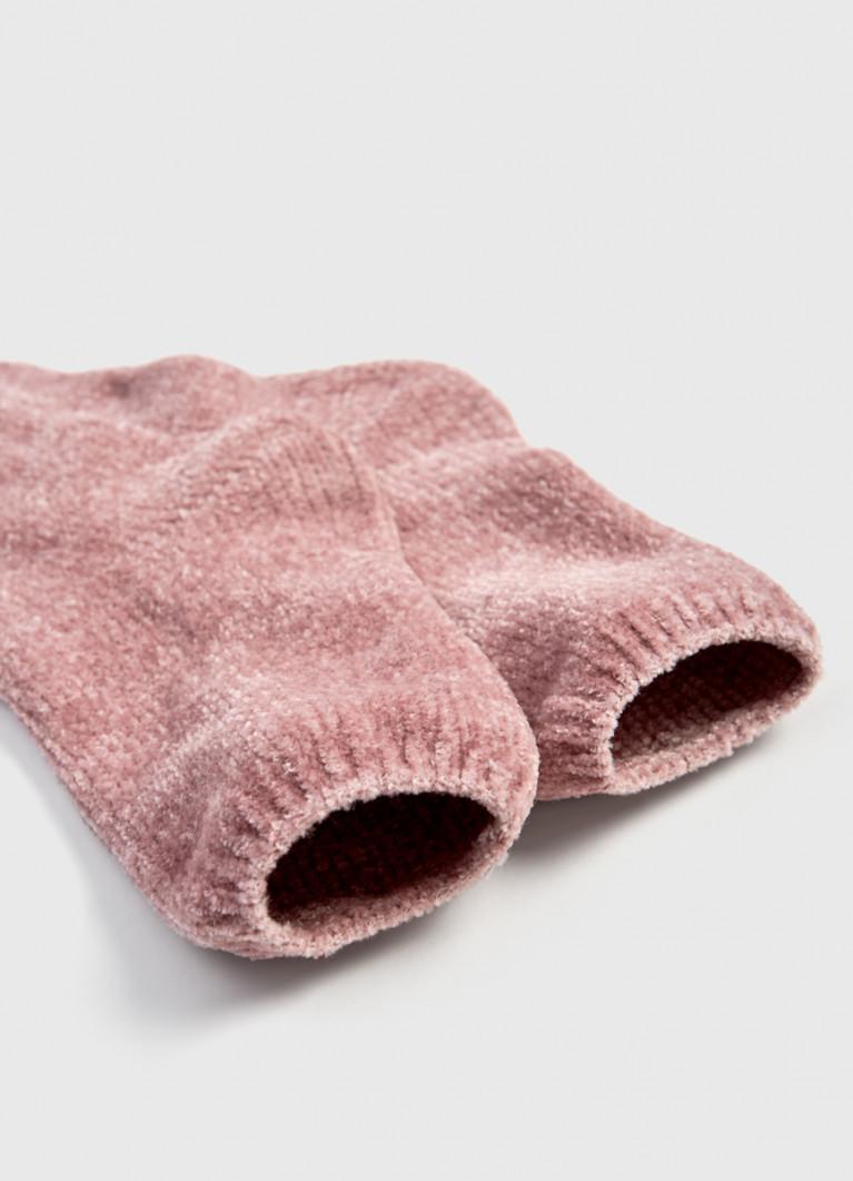 Носки из бархатного флиса