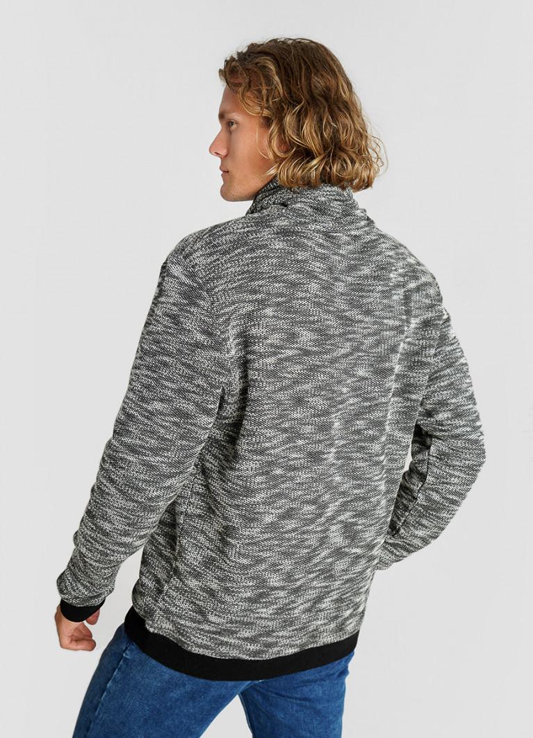 Джемпер из текстурированного полотна