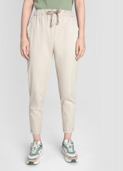 Хлопковые свободные брюки