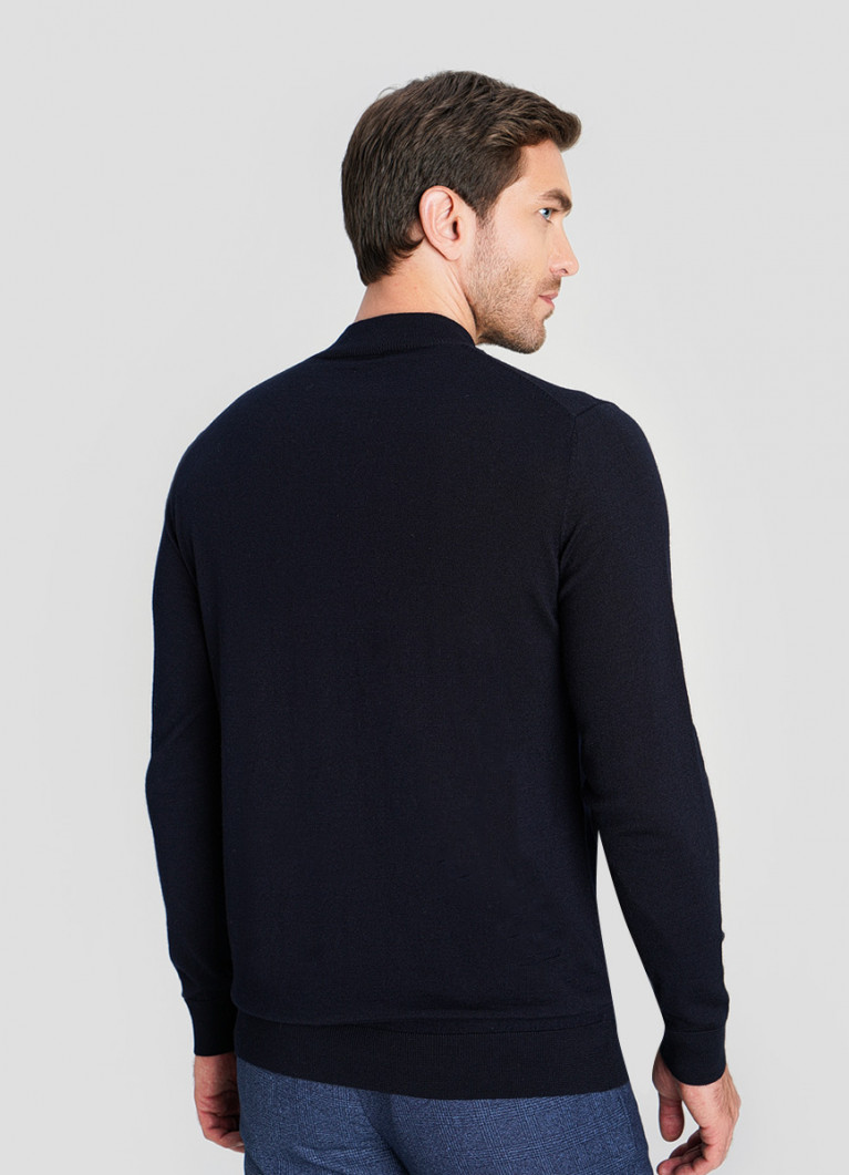 Джемпер Mock-neck из шерсти мериноса